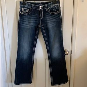 Vigoss Jeans Size 11/12 Length 33